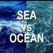 Check out the difference between seas and oceans