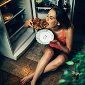 The danger of eating immediately before you sleep.