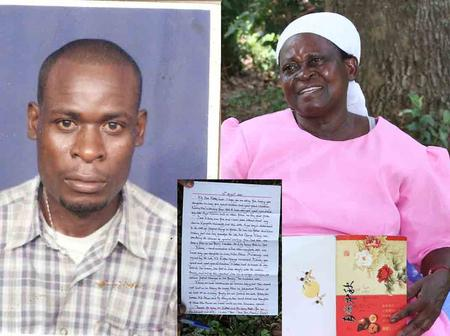Kenyan Serving a life Sentence in China Writes Letters to Keep Family Hopes Alive