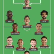 Liverpool Strongest Lineup That Should Start Against Fulham