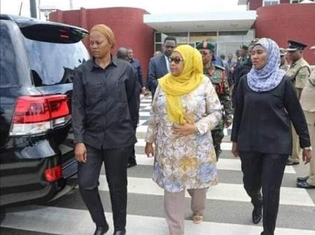 Wahu Kagwi Reacts To The Photo Of Samia Suluhu And Her Bodyguards, Urges Women To Do This