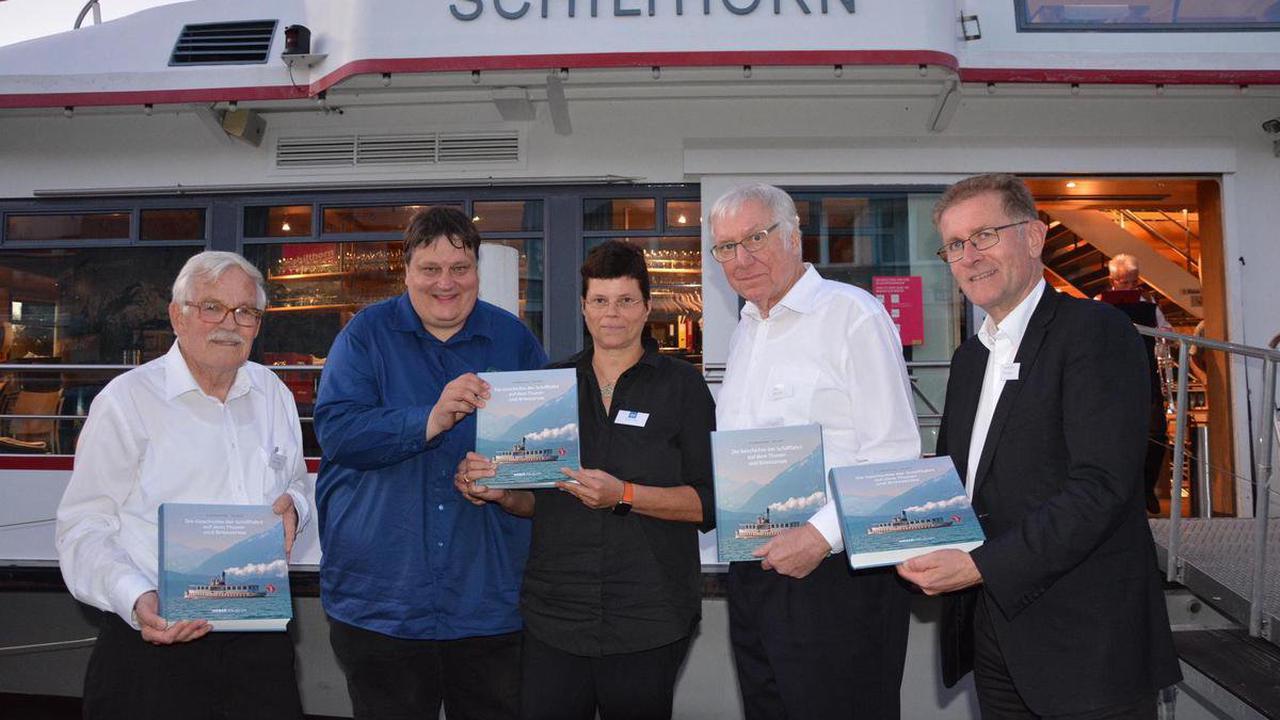 Buchvernissage in Thun – Eine Lektüre für die Freunde der Schifffahrt