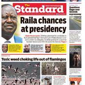 Monday Newspaper Headline