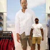 Fans think Siya Kolisi would take over Maps Maponyane's career as model after seeing this picture.