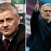 Check What Jose Mourinho Said To Ole Gunnar Solskjaer After Tottenham And United Game