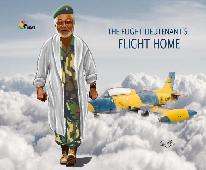 "3dce8afa0e63437997bcface7eba4267?quality=uhq&resize=720 - Tears Flow As Tilapia Dropped ""The Flight Lieutenant's Flight Home!"" Animation In Honour Of Rawlings"