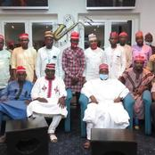 Dr Rabiu Musa Kwankwaso, Had A Meeting With Arewa Community Leaders, Business Men At Cross River