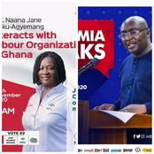Dr. Bawumia Clashes With Prof. Naana Jane; Who Will Win The Battle?
