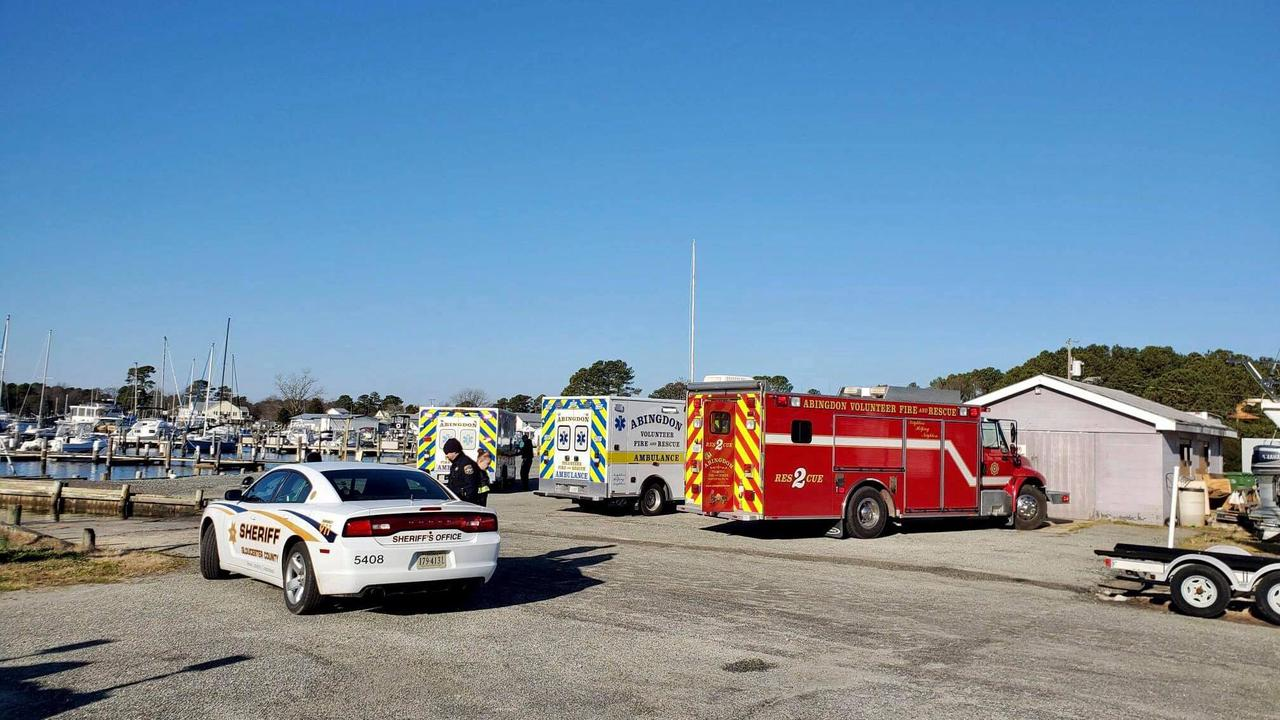 Boaters found clinging to capsized boat in Gloucester