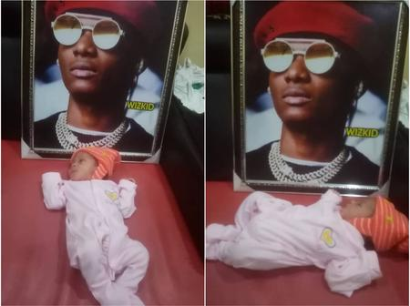 Reactions As Man Dedicated His Baby To Wizkid