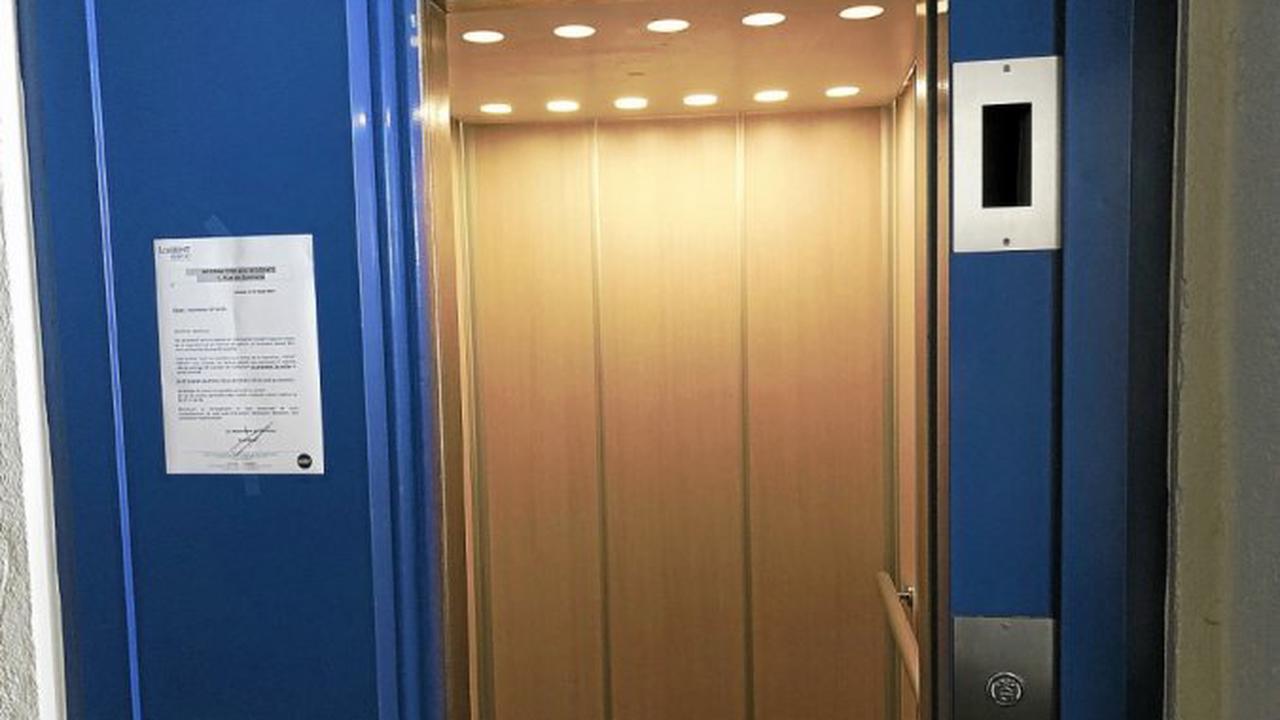 Lorient - À Lorient, la tour de quatorze étages dispose à nouveau d'un ascenseur