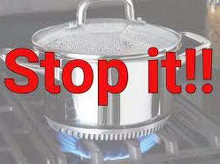 Stop Using These Two Methods to Cook Your Food, It's Killing You Slowly