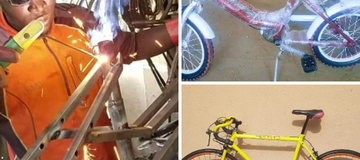 Meet Umar Yusuf, The Muslim Man From Borno State Who Constructed Several Sport Bikes (see photos)