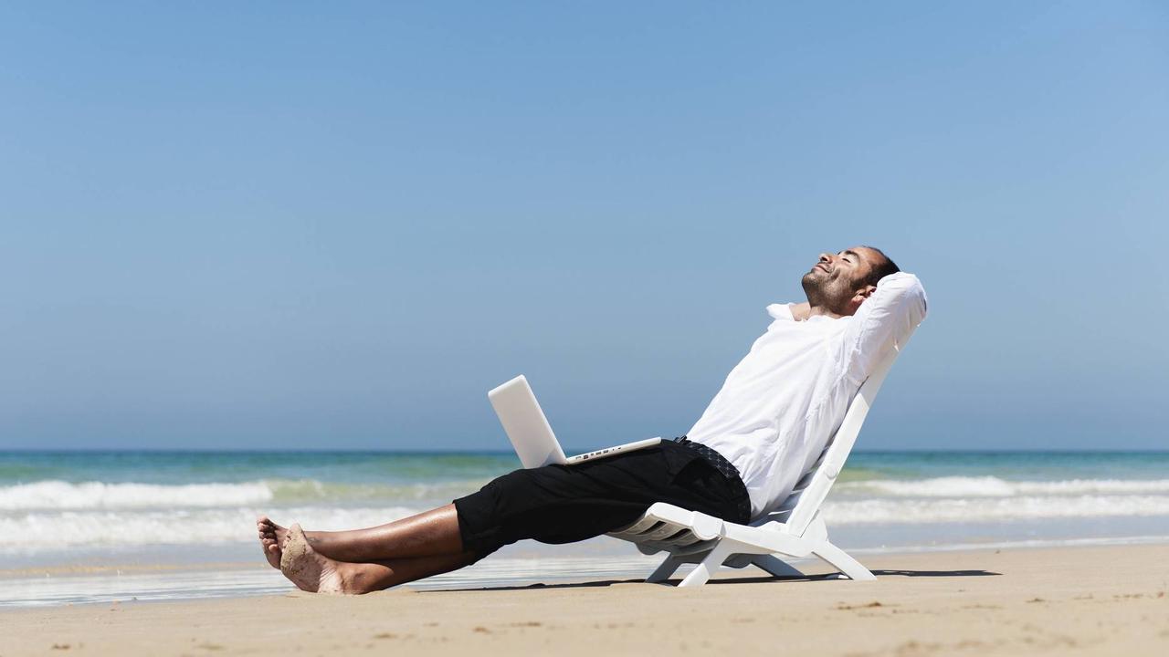 Sonne, Strand und Videokonferenzen?