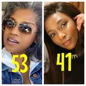 Who Looks More Ageless Between This Black American Actress Who Is 53 And Genevieve Who Is 41?