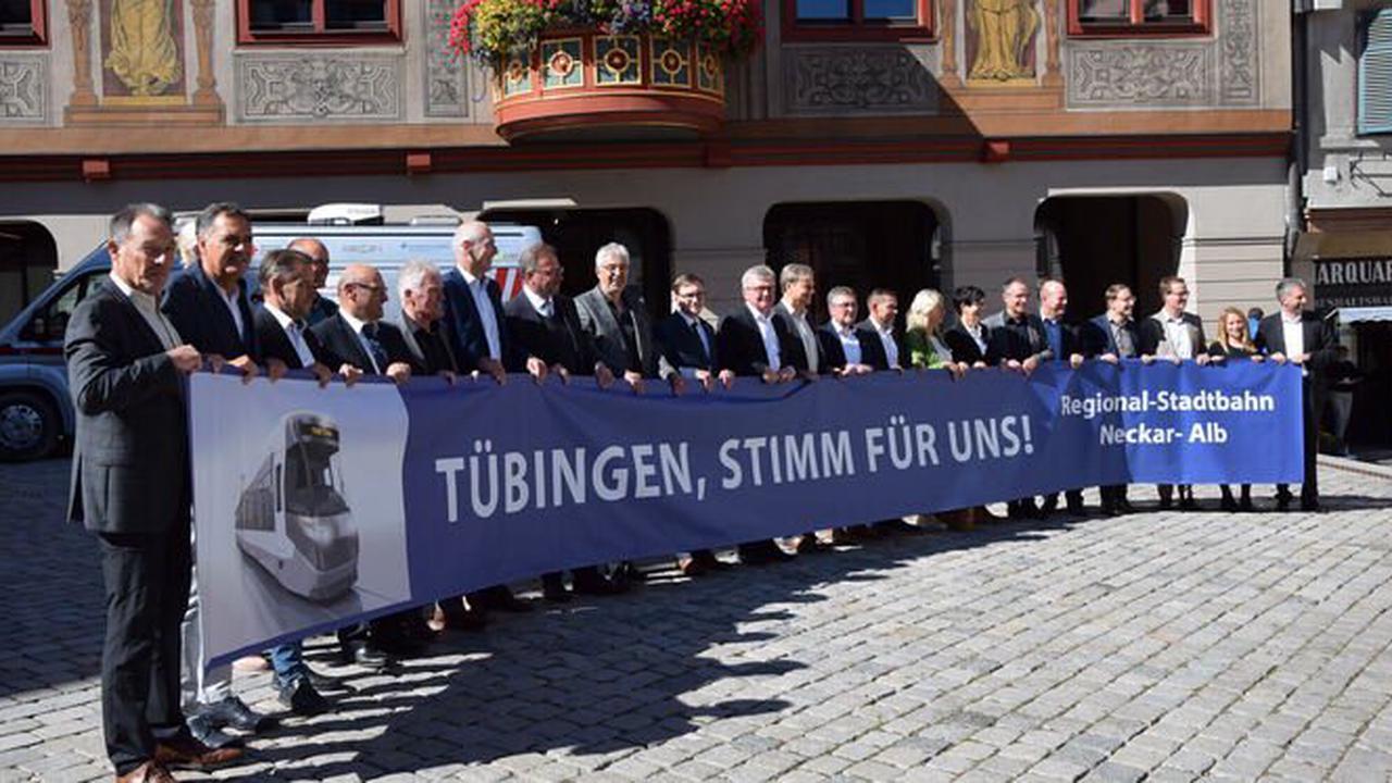 Für die Innenstadtstrecke: Appell der Bürgermeister vor dem Tübinger Bürgerentscheid - Nehren - Reutlinger General-Anzeiger