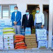 Action sociale / Le maire Cissé Bacongo receptionne un important don du Groupe Carré d'or
