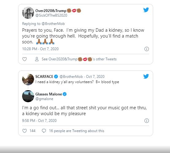 Rapper, Scarface reveals he