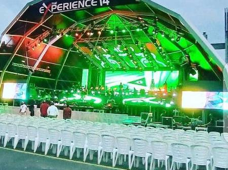 THE EXPERIENCE14, YOU CAN WATCH FROM THE COMFORT OF YOUR HOME AT THIS TIME