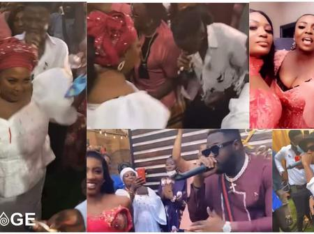 Roseline Okoro, one of the sisters of famous Ghanaian entertainer Yvonne Okoro got hitched today