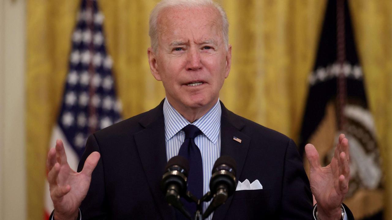 Biden says effort to restore calm in Middle East is a 'work in progress'