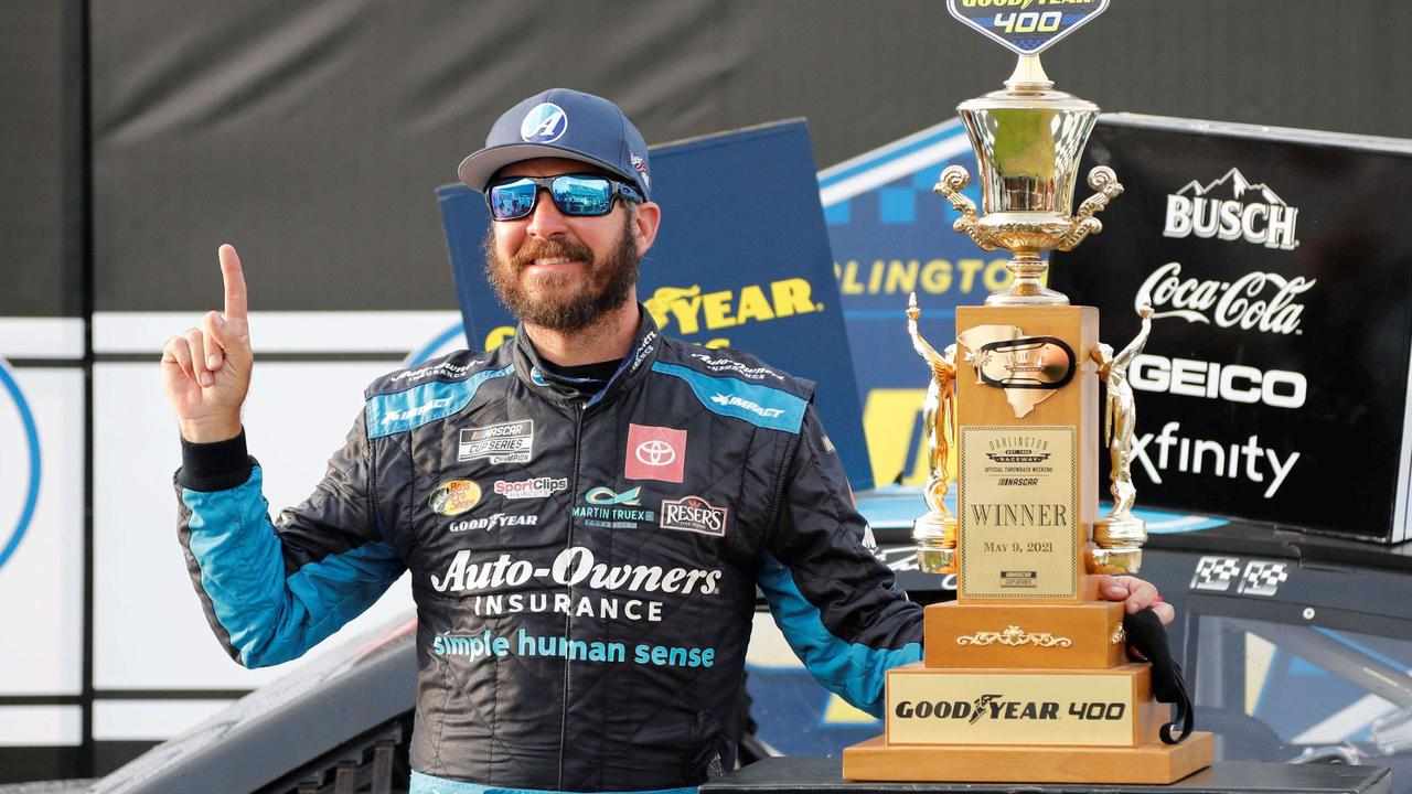 Martin Truex dominates Goodyear 400 for third win of NASCAR season