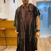"Photos of Ozo's dope outfit to the movie premiere of ""Coming To America 2"""