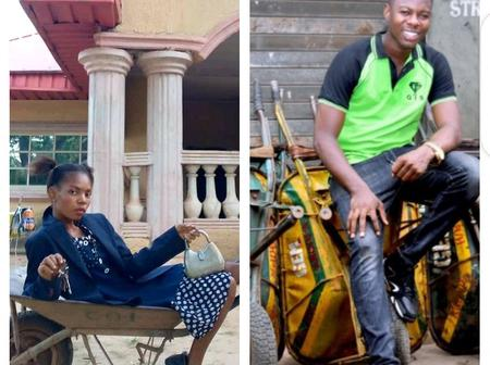 After a young man reveals how he became a millionaire from barrow business, see what this lady did