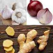 Boil Onion, Garlic and Ginger to Treat These Health Issues