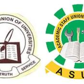 Strike: FG, ASUP to Meet on Wednesday and Thursday