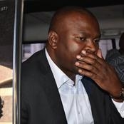 BREAKING: Former Sports CS Rashid Echesa Has Been Arrested Under Tight Security