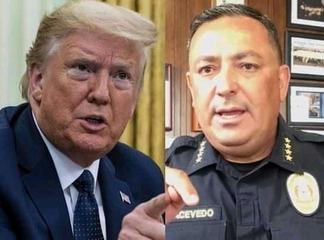 Assassinat de Georges Floyd : un chef de la police rappelle Donald Trump à l'ordre.