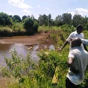 Sombre Mood In Embu County After Middle Aged Man Drowned Body is Recovered