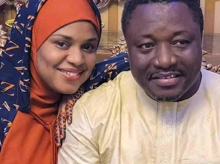 Fati Ladan Shared Some Stunning Pictures On Her Seventh Years Wedding Anniversary.