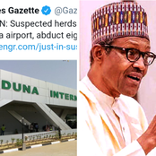 8 Workers Of Kaduna International Airport Kidnapped