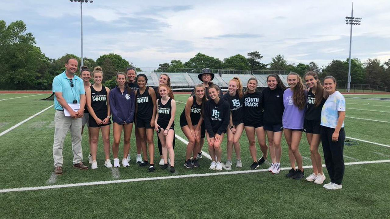 Low numbers didn't stop Plymouth South girls track from winning league title