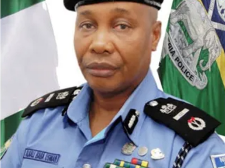 President Buhari appoints a new acting Inspector General of Police.