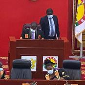 Fomena MP Assumes Chair of 2nd Deputy Speaker of Parliament for the First time.
