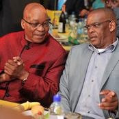 """""""Don't Step Down Yet, Take Revenge First"""". Zuma Advise Magashule As They Hold Meeting For 3 Hours"""