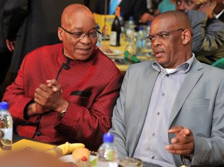 """Don't Step Down Yet, Take Revenge First"". Zuma Advise Magashule As They Hold Meeting For 3 Hours"