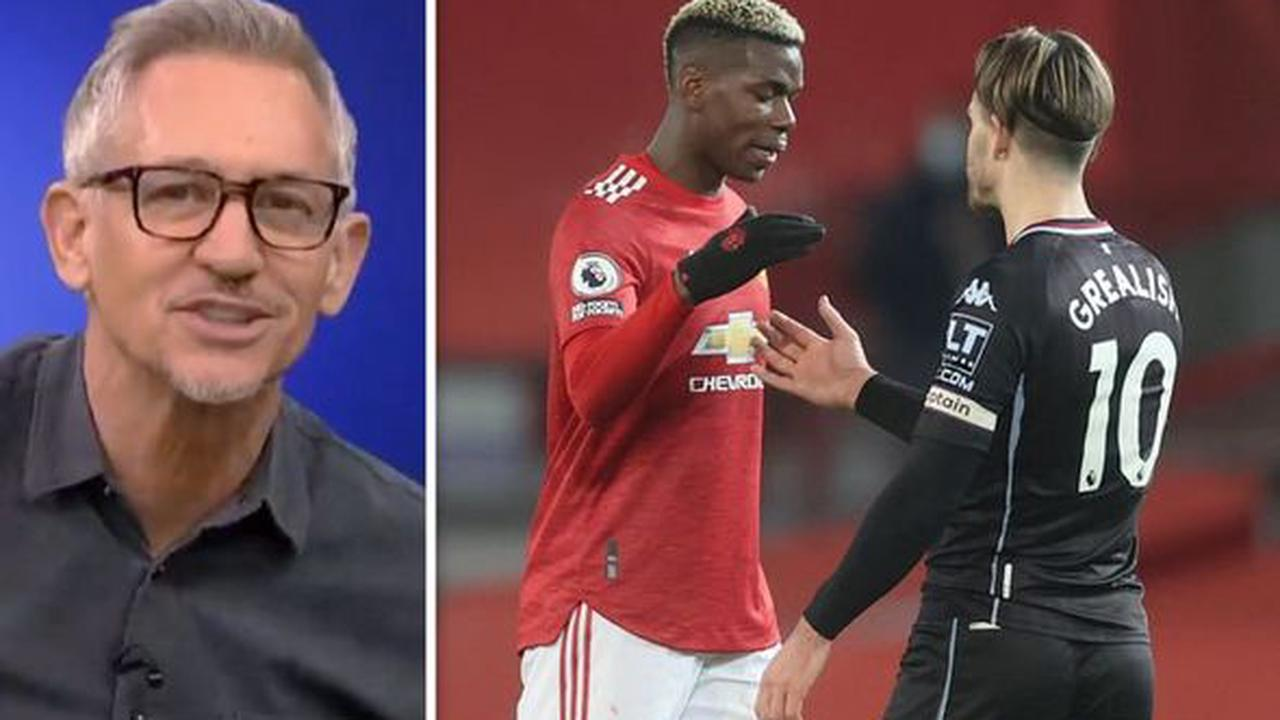 Gary Lineker and Ian Wright suggest what Paul Pogba told Jack Grealish about Man Utd move
