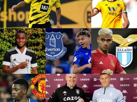 Done Deals And Transfer News Across Europe Involving Manchester And Everton.