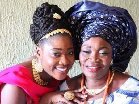 Check Out Photos of 6 Nollywood Actresses Who Have Lost Their Mothers