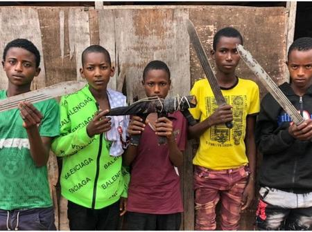 5 Dreaded Teenage Armed Robbers Who Operates on Lagos-Ibadan Highway Arrested By The Police