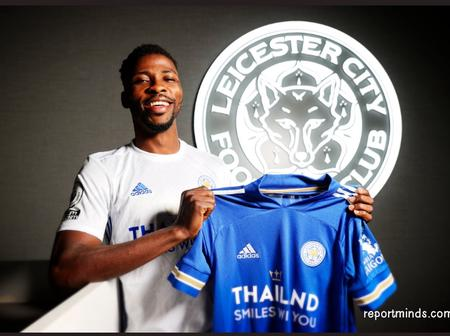 Leicester City Reward Kelechi Iheanacho With Four Years New Contract