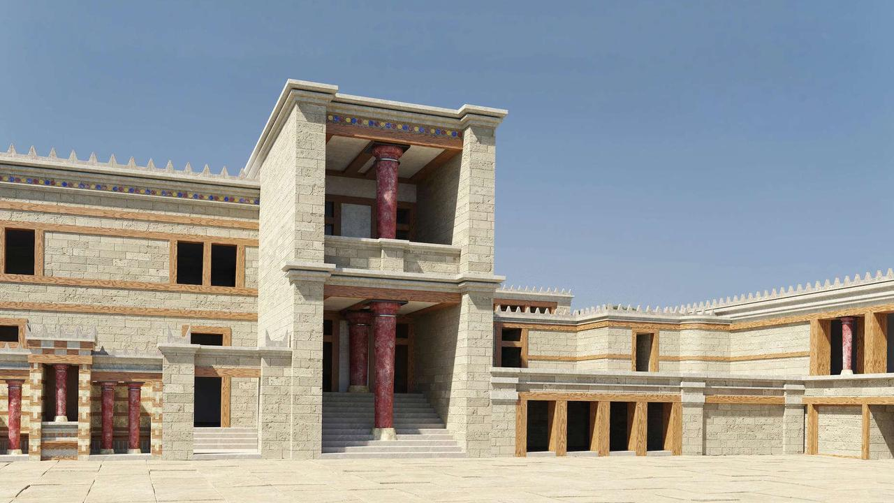 Beautiful abandoned palaces rebuilt before your eyes