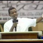 Adeboye shares why a mother used diabolical means to prevent her daughter from getting married