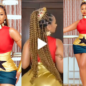 Watch: Hajia4real celebrates Ghana with a heavy twerk of her gigantic backside on Independence Day.