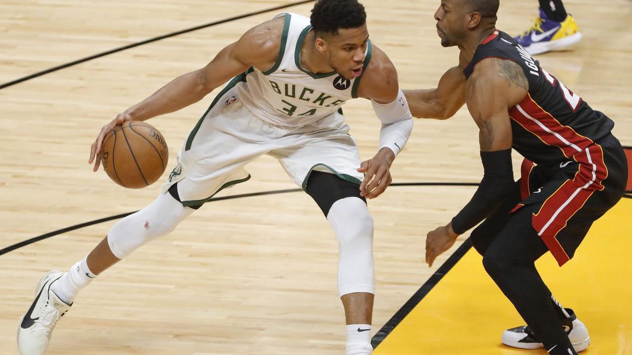 Bucks blow past Heat 120-103, earning series sweep