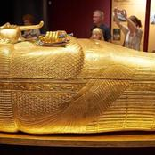History: See what the coffin of Egyptian Pharaoh that died 3,000 years ago looks like